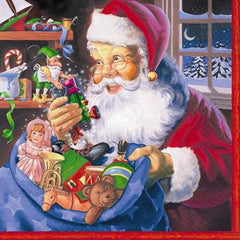 Santa's Workshop Lunch Napkins