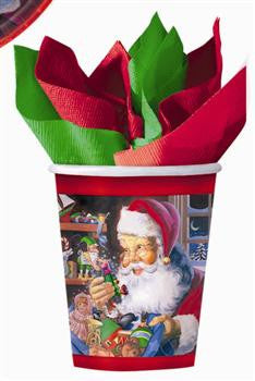 Santa's Workshop Cups