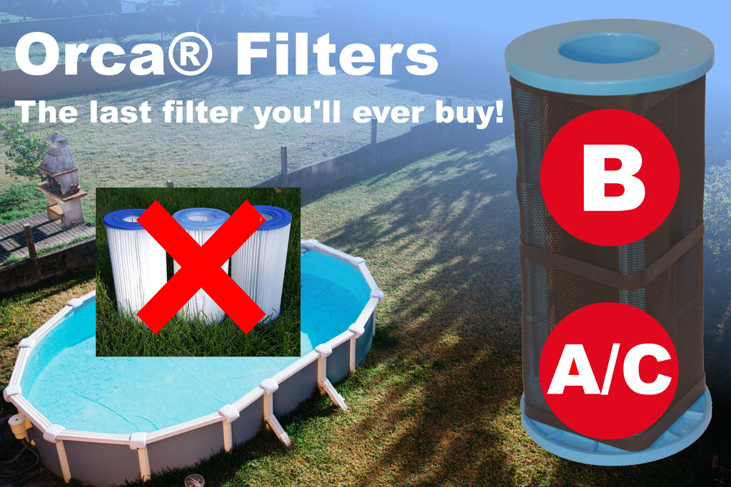 Orca® Filters Size B Reusable Pool Filter