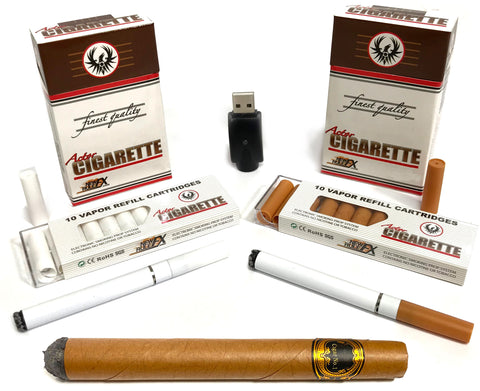 Actor Cigarette and Actor Cigar collection. Simulated smoking props