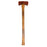 NewRuleFX Brand 35 Inch Dual Head Urethane Foam Rubber Axe Stunt Prop - RUSTY - Rusty Head with Aged Handle