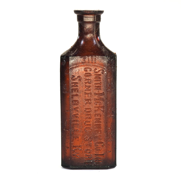 NewRuleFX Brand SMASHProps Breakaway Small Poison Bottle Prop - AMBER BROWN translucent - Amber Brown Translucent