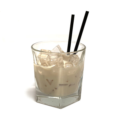 FX Display White Russian Glass Replica Drink Prop