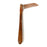 NewRuleFX Brand Foam Rubber Kama Japanese Grass Sickle - RUSTY - Rusty Head with Aged Handle
