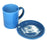 NewRuleFX Brand SMASHProps Breakaway Mug & Saucer Set - LIGHT BLUE opaque - Light Blue,Opaque