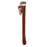 NewRuleFX Brand Extra Large Foam Rubber Stunt 24 Inch Pipe Wrench Prop - RUSTY - Rusty Red and Silver