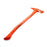 NewRuleFX Brand 36 Inch Firefighter / Fireman's Axe Urethane Foam Rubber Stunt Prop - BLOODY - Bloodied Red and Silver Head with Red Handle
