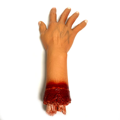 NewRuleFX Brand Foam Rubber and Latex Bloody Severed Hand Stump - RIGHT - 1 Right Hand