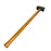 NewRuleFX Brand Urethane Foam LARGE 34 Inch Rubber Sledgehammer Stunt Prop - BLACK / SILVER - Black and Silver Head with Lightwood Grain Handle