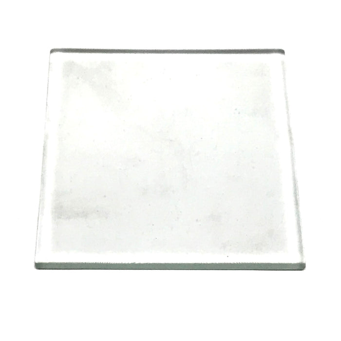 NewRuleFX Brand SMASHProps Breakaway Glass or Ceramic Tile Prop 4 Inch x 4 Inch - CLEAR - Clear,Translucent