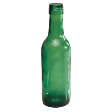NewRuleFX Brand SMASHProps Breakaway Mini Traveler Alcohol Bottle Prop - DARK GREEN translucent - Dark Green Translucent