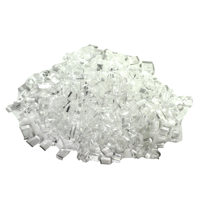 NewRuleFX Brand Crystal Clear Silicone Rubber Glass - TEMPERED 1 LB - Tempered,1 Pound