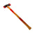NewRuleFX Brand 35 Inch Dual Head Urethane Foam Rubber Axe Stunt Prop - BLOODY - Bloodied Silver Head with Aged Handle