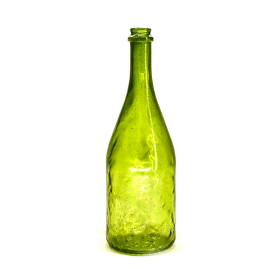 NewRuleFX Brand SMASHProps Breakaway Champagne Bottle Prop - DARK GREEN translucent - Dark Green Translucent