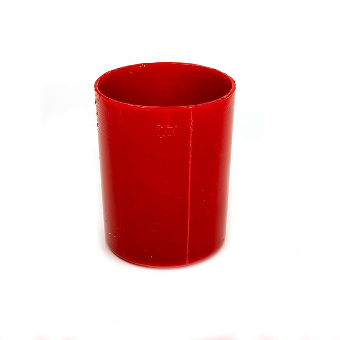 NewRuleFX Brand SMASHProps Breakaway Tumbler Glass - RED opaque - Red,Opaque