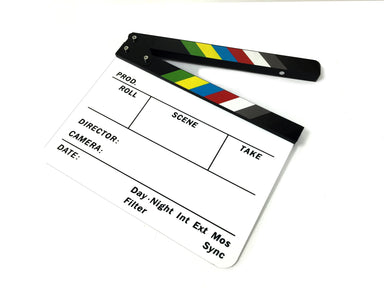 Professional Dry-Erase Production Slate Clapperboard Marker