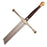 Game of Thrones Soft Urethane Foam Ice Sword Prop with Fiberglass Core in Collectors Box