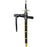 Game of Thrones Longclaw Sword of Jon Snow Night's Watch Leather Scabbard Replica Prop