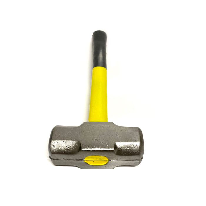 Foam Rubber Roughneck Mini Sledgehammer Prop 16 Inch  - Black and Yellow