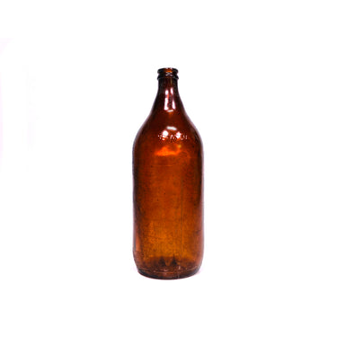 NewRuleFX Brand SMASHProps Breakaway 32oz Beer Bottle Prop - AMBER BROWN translucent - Amber Brown Translucent