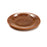 NewRuleFX Brand SMASHProps Breakaway Medium Dinner Plate - AMBER BROWN opaque - Amber Brown,Opaque