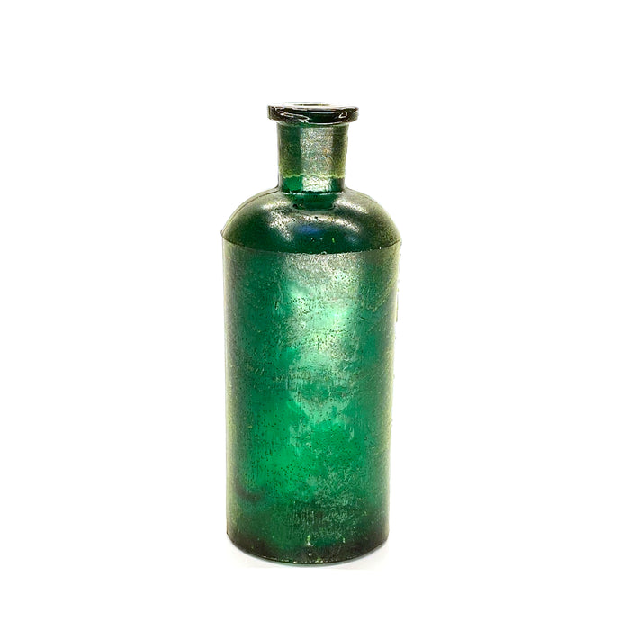 NewRuleFX Brand SMASHProps Breakaway Vintage Tonic Bottle Prop - DARK GREEN translucent - Dark Green Translucent