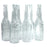 NewRuleFX Brand SMASHProps Breakaway Beer Bottle Prop VALUE 6 Pack - CLEAR - Clear