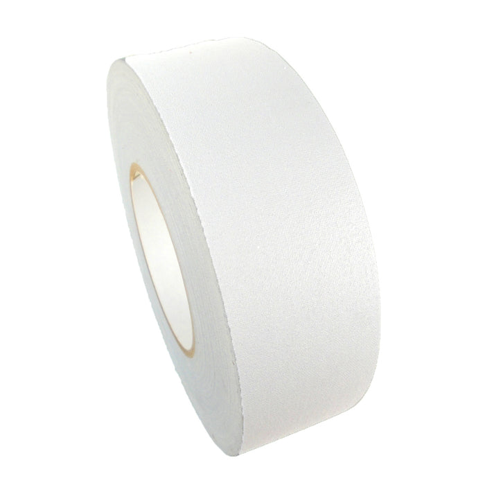 2 Inch Wide Professional Motion Picture Gaffer's Tape 12Mil 60Yd Roll - WHITE - White