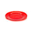 NewRuleFX Brand SMASHProps Breakaway Large Dinner Plate - RED translucent - Red,Translucent