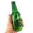 NewRuleFX Brand SMASHProps Breakaway Craft Beer Bottle Prop - DARK GREEN translucent - Dark Green Translucent