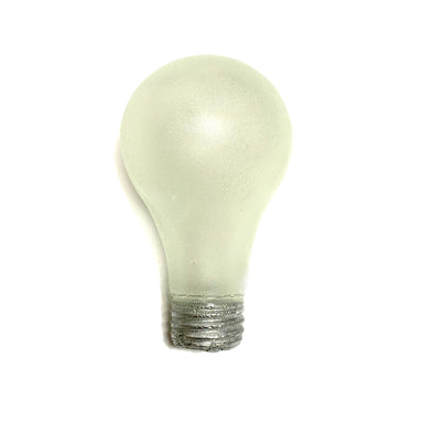 NewRuleFX Brand SMASHProps Breakaway Standard Light Bulb - FROSTED / SILVER - Frosted Bulb,Silver Base
