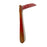NewRuleFX Brand Foam Rubber Kama Japanese Grass Sickle - BLOODY - Bloodied Silver Head with Aged Handle