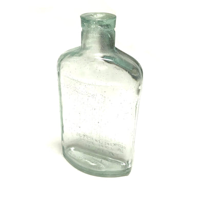 NewRuleFX Brand SMASHProps Breakaway Half Pint Flask Bottle Prop - CLEAR - Clear