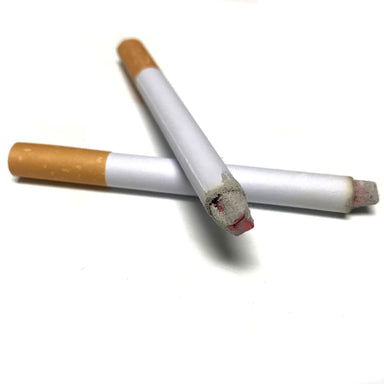 Fake Puff Puff Style Phony Cigarette with Powder Smoke Effect - 2 Pack