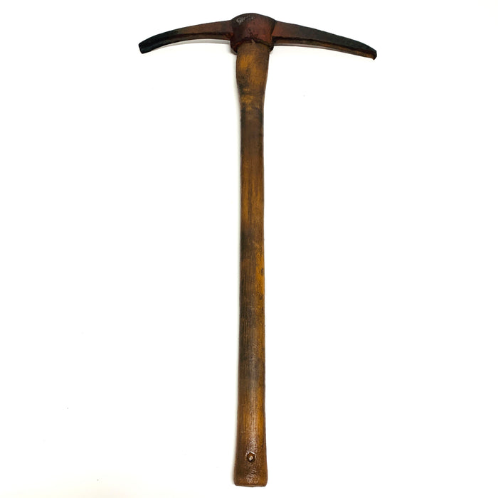 NewRuleFX Brand Foam Rubber Large Mining Pick Axe Stunt Prop - RUSTY - Rusty Head with Aged Handle