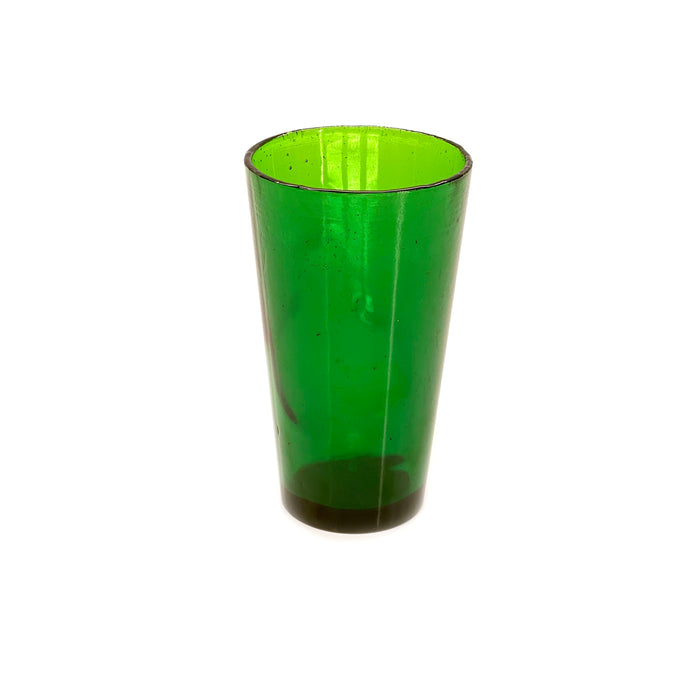 NewRuleFX Brand SMASHProps Breakaway Beer Pint Glass Prop - DARK GREEN translucent - Dark Green Translucent