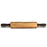 NewRuleFX Brand Foam Rubber Rolling Pin Prop - LIGHT WOOD GRAIN - Light Wood Grain