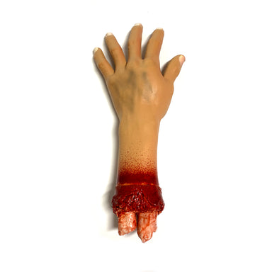 NewRuleFX Brand Foam Rubber and Latex Bloody Severed Hand Stump - LEFT - 1 Left Hand