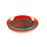 NewRuleFX Brand SMASHProps Breakaway Medium Dinner Plate - AMBER BROWN translucent - Amber Brown,Translucent
