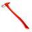 NewRuleFX Brand 36 Inch Firefighter / Fireman's Axe Urethane Foam Rubber Stunt Prop - RED / SILVER - Red and Silver Head with Red Handle