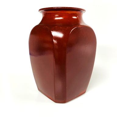 NewRuleFX Brand SMASHProps Breakaway Square Sided Vase or Urn - AMBER BROWN opaque - Amber Brown,Opaque