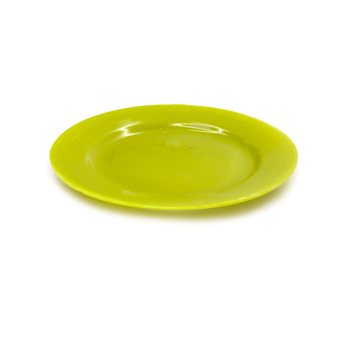 NewRuleFX Brand SMASHProps Breakaway Medium Dinner Plate - LIGHT GREEN opaque - Light Green,Opaque