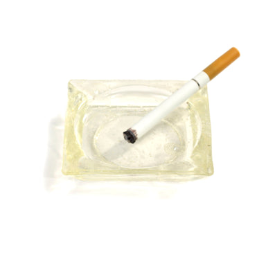 NewRuleFX Brand SMASHProps Breakaway Square Ash Tray - CLEAR - Clear