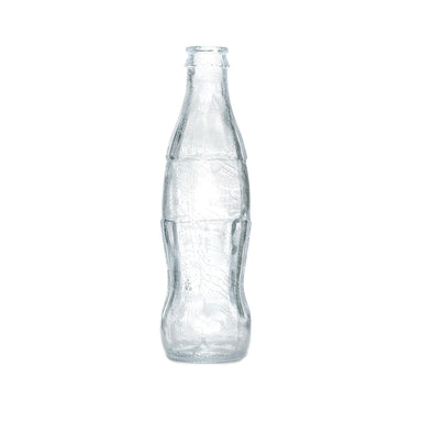 NewRuleFX Brand SMASHProps Breakaway Vintage Fluted Cola Soda Bottle - CLEAR - Clear