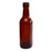 NewRuleFX Brand SMASHProps Breakaway Mini Traveler Alcohol Bottle Prop - AMBER BROWN translucent - Amber Brown Translucent
