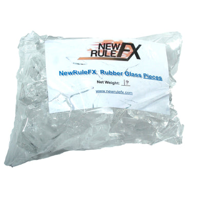 NewRuleFX Brand Crystal Clear Silicone Rubber Glass - PIECES 1 LB - Pieces,1 Pound