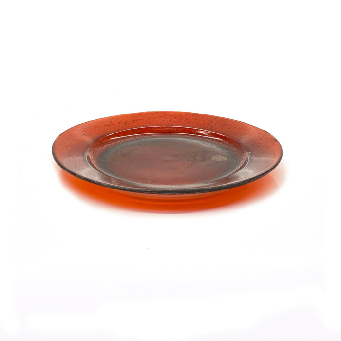 NewRuleFX Brand SMASHProps Breakaway Medium Dinner Plate - RED translucent - Red,Translucent