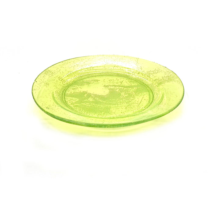NewRuleFX Brand SMASHProps Breakaway Medium Dinner Plate - LIGHT GREEN translucent - Light Green,Translucent