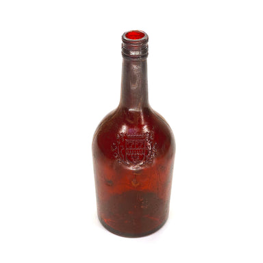 NewRuleFX Brand SMASHProps Breakaway Irish Cream or Cognac Bottle Prop - AMBER BROWN translucent - Amber Brown Translucent