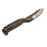 NewRuleFX Brand Large Plastic Curved Machete Survival Knife FX Prop - RUSTY - Rusty